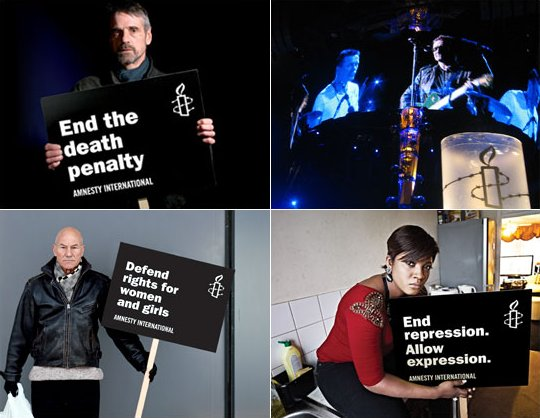 Artists for Amnesty International Bulletins